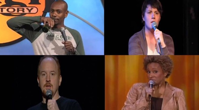 Four examples of the right way to use comedy to talk about rape