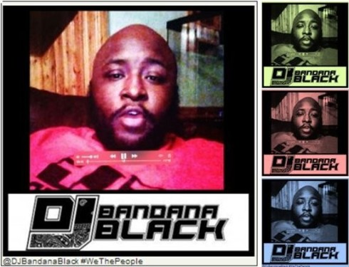 DJ Bandana Black