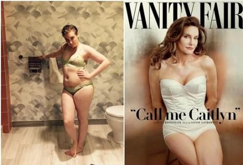 Photo credit: Instagram and Annie Leibovitz for Vanity Fair