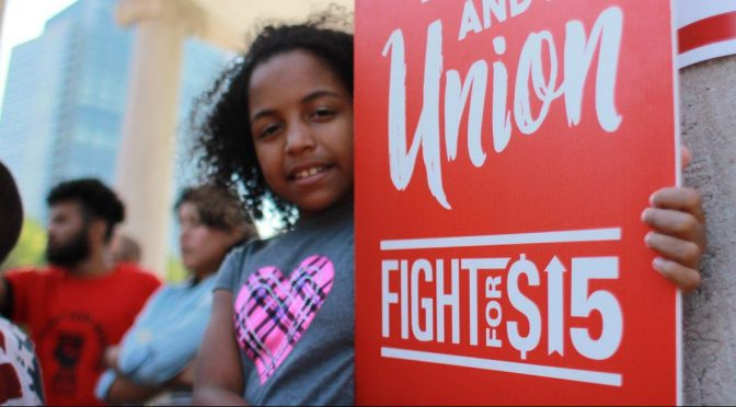 Tweet Beat: Labor Day and the #FightFor15