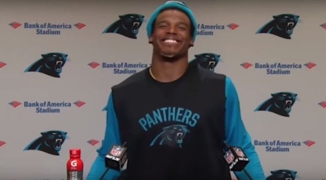 "Tweet Beat: Cam Newton and ""funny"" female reporters"